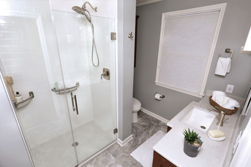 Bathroom remodeling we've completed in Littleton, CO